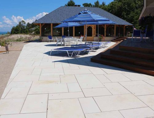 Planning Your Outdoor Living Space- Stone Paver Patio vs. Stamped Concrete Patio