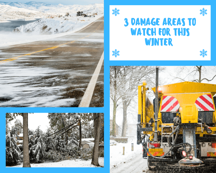 3 damage areas to watch out for